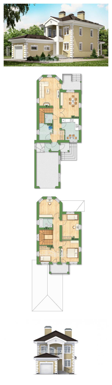Проект дома 150-006-Л | House Expert