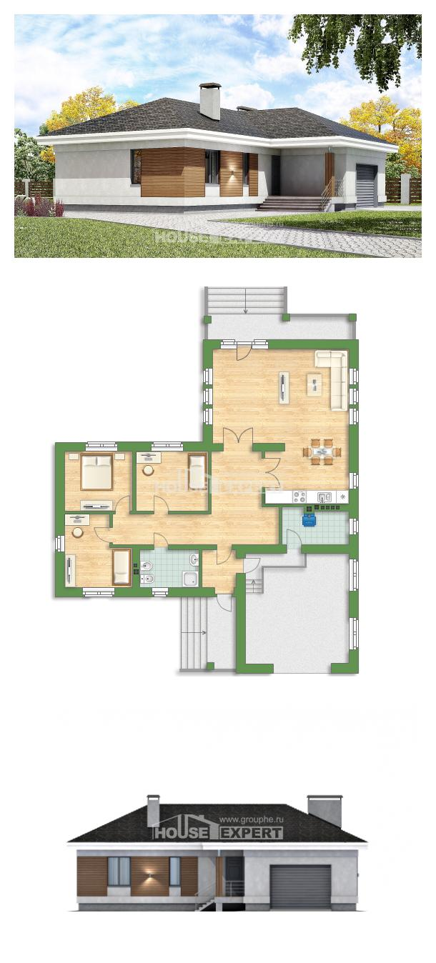 Проект дома 165-001-П | House Expert